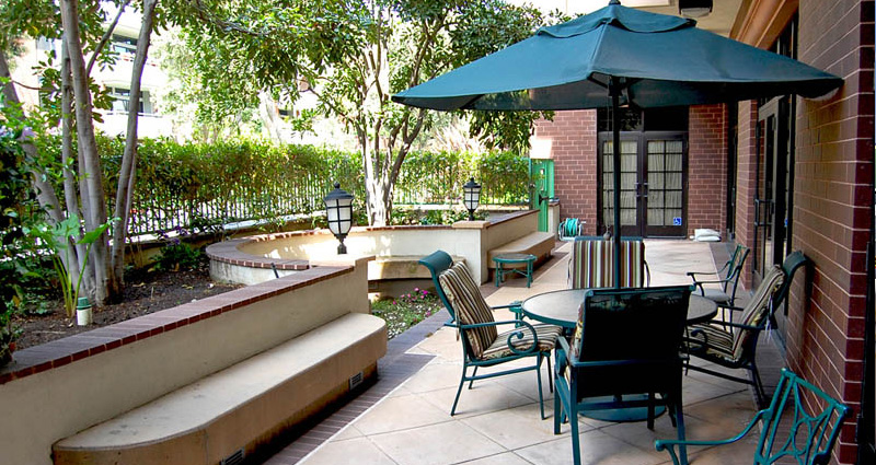 Patio - The Watermark at Beverly Hills