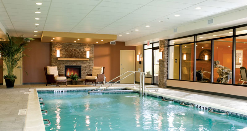 Indoor pool - The Watermark at East Hill