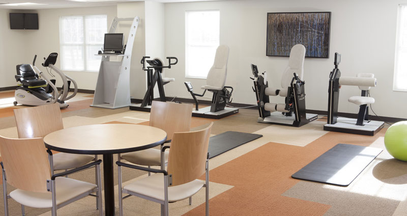 Fitness Room - The Village at Legacy Pointe