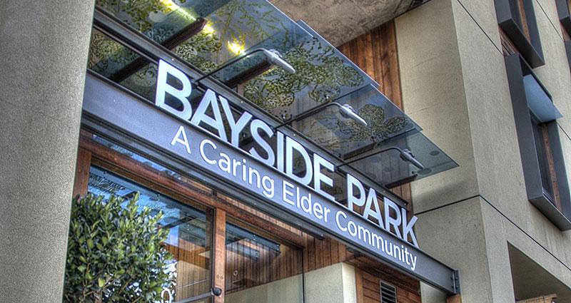 Front Entrance – Bayside Park